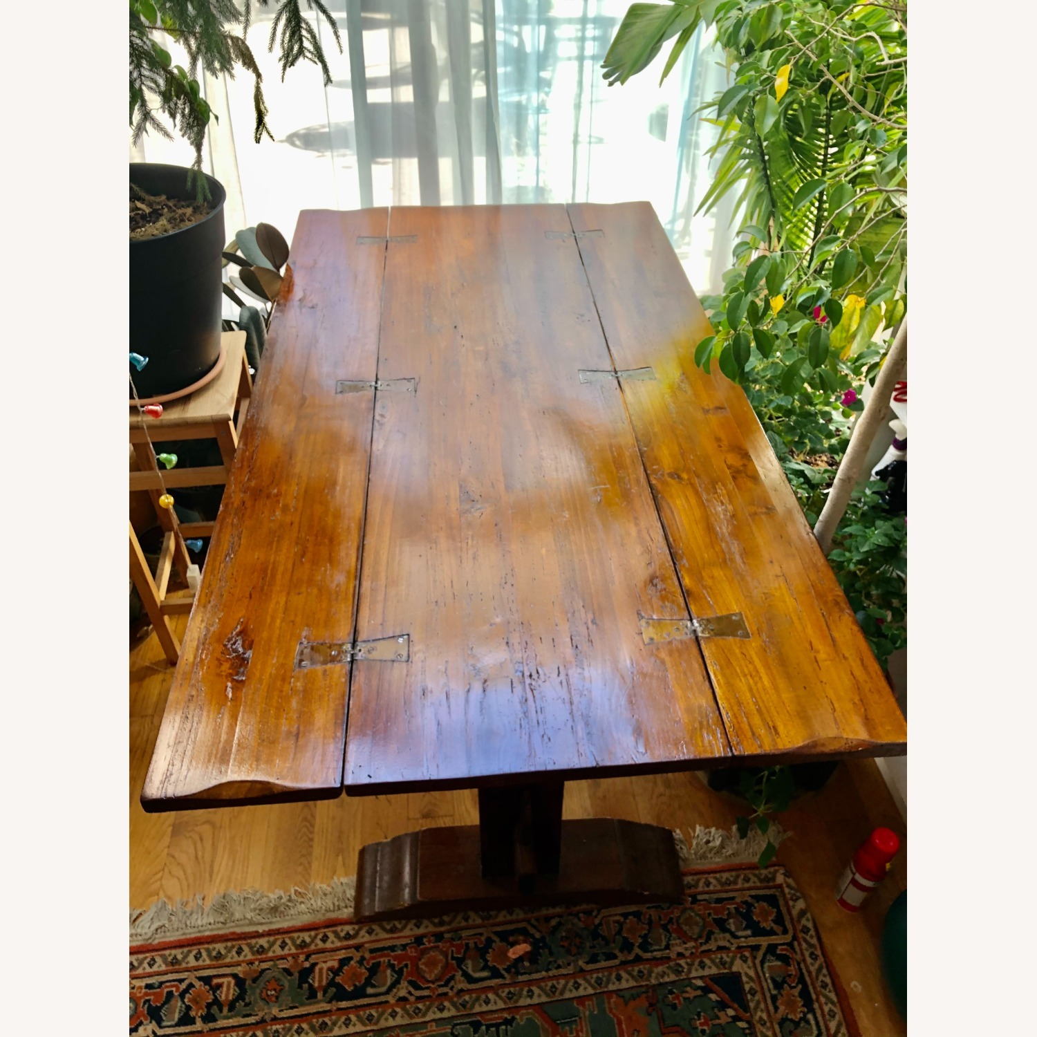 Italian Renaissance Style Carved Banquet Table - image-10