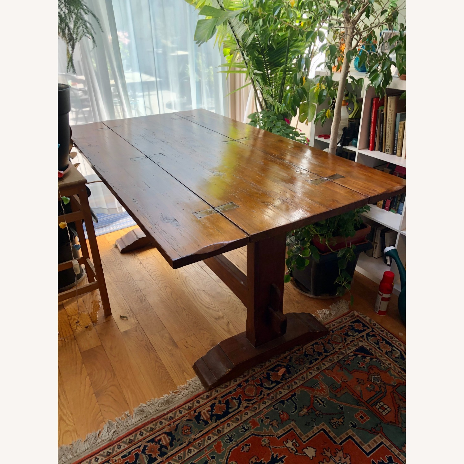 Italian Renaissance Style Carved Banquet Table - image-12