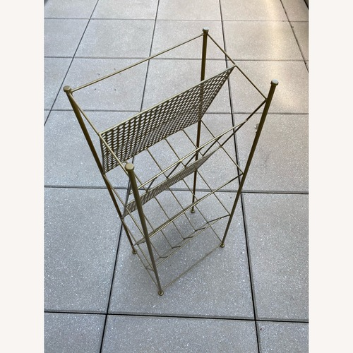 Used Urban Outfitters Metal Vinyl Record Holder for sale on AptDeco