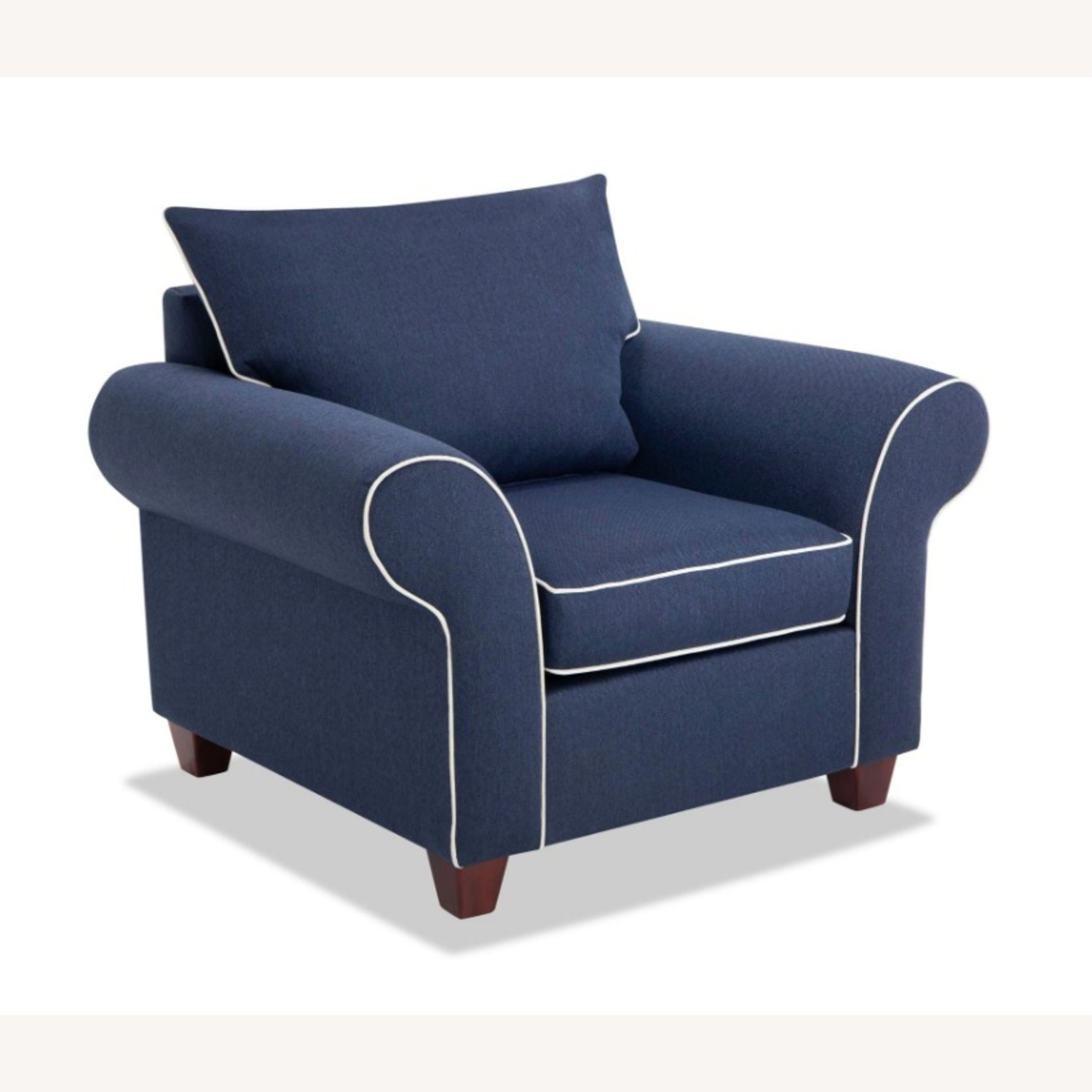 Bob's Discount Furniture Armchair with Ottoman - image-2
