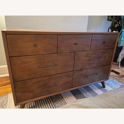 Used World Market Large Acorn Wood Brewton Dresser for sale on AptDeco