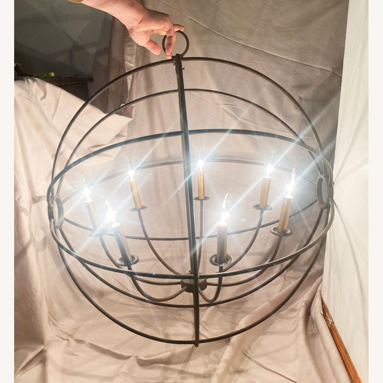 "Iron Orb Chandelier, 32"", 7-light - image-3"