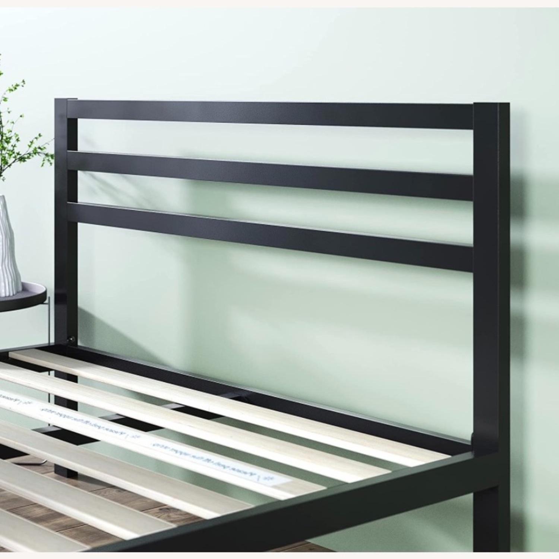Minimalist Black Bed - image-4