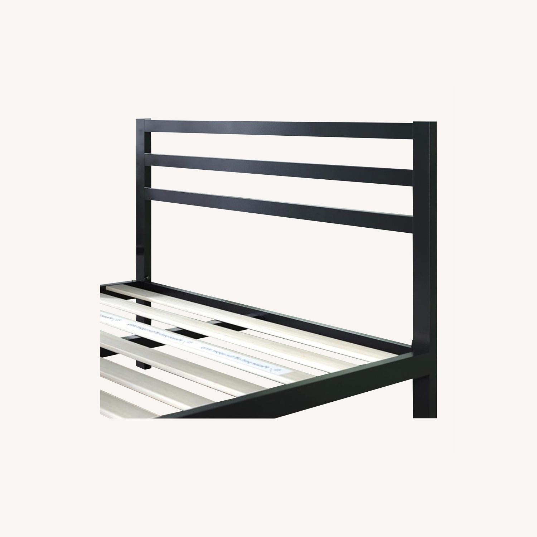 Minimalist Black Bed - image-0