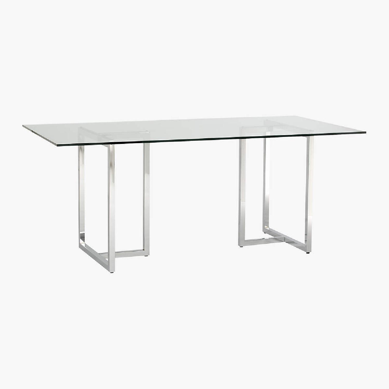 CB2 Chrome Silverado Table - image-4