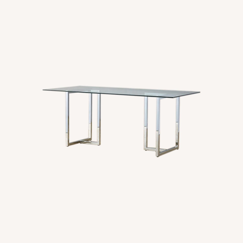 CB2 Chrome Silverado Table - image-0
