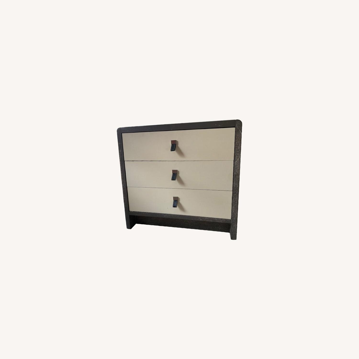 Elegant Chest of Drawers with Leather Pulls - image-0