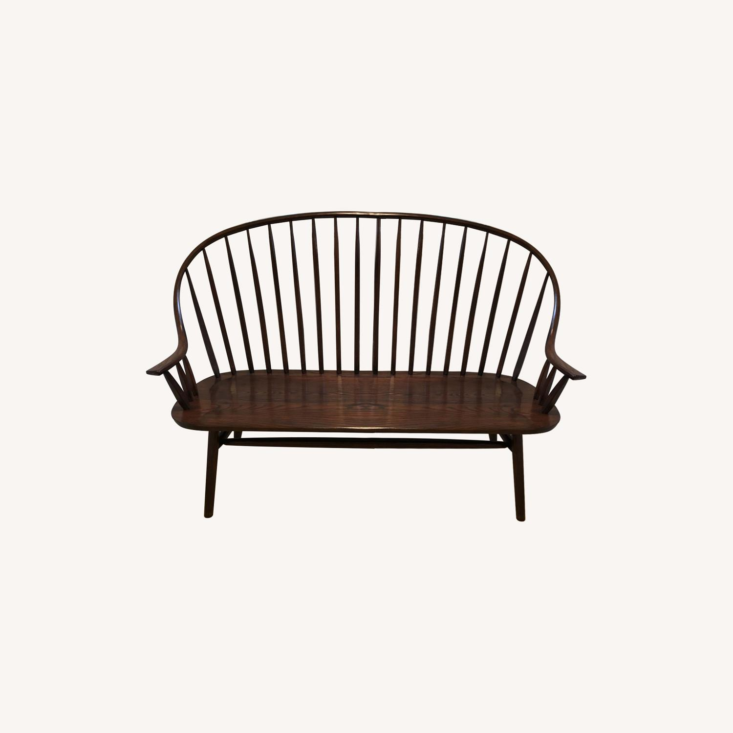 Hunt Country Furniture Continuous Bow Settee - image-0