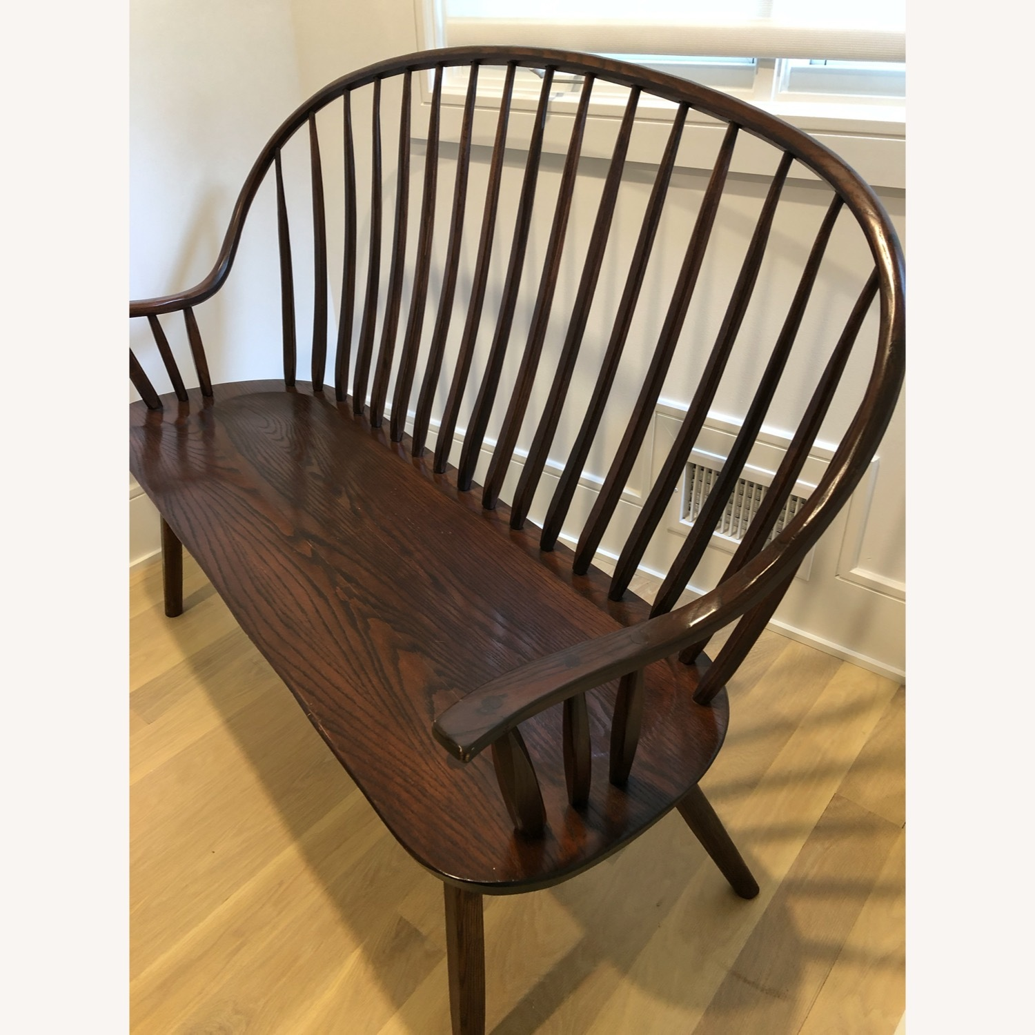 Hunt Country Furniture Continuous Bow Settee - image-2