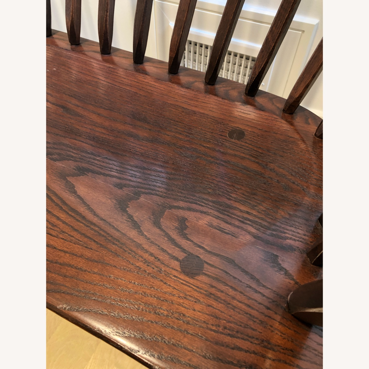 Hunt Country Furniture Continuous Bow Settee - image-3