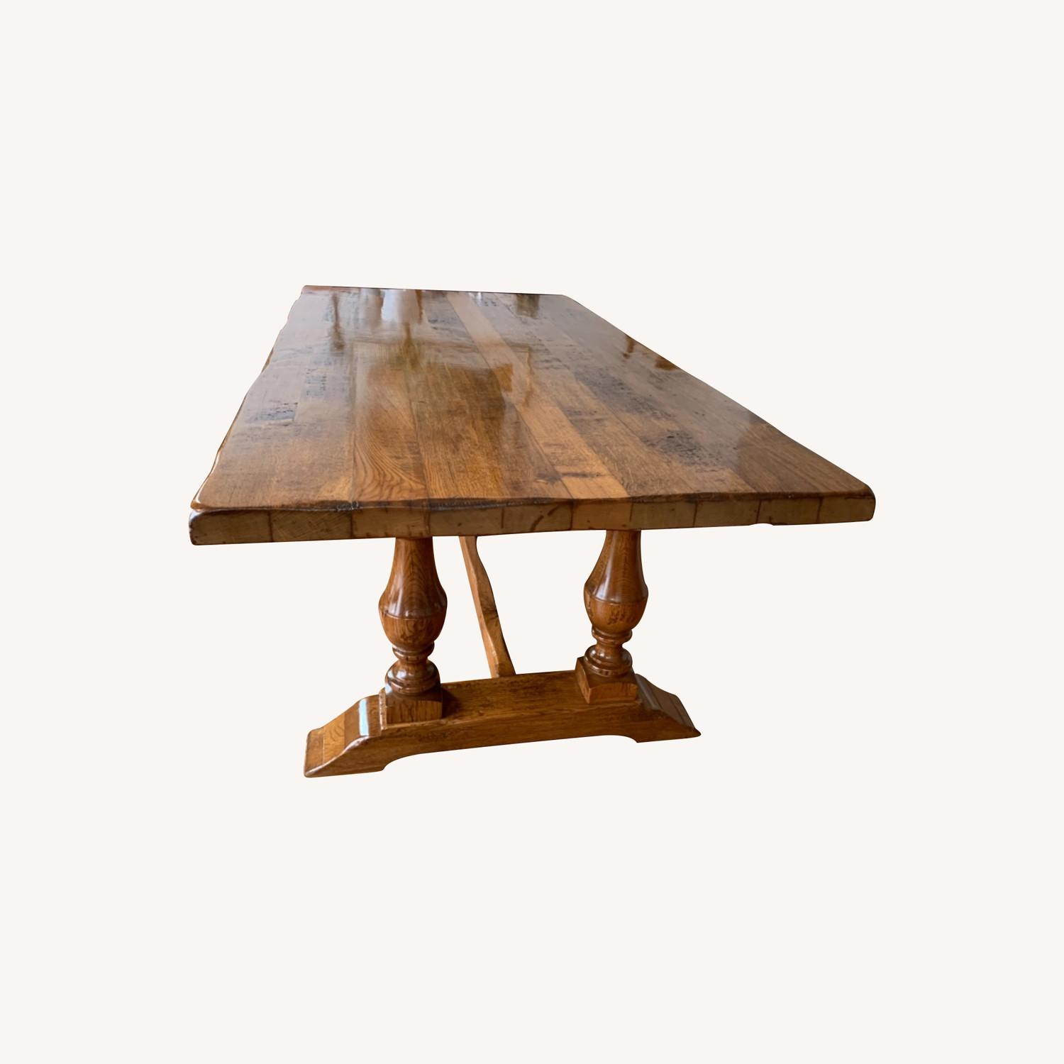Imported French Rustic Dining Table - image-0