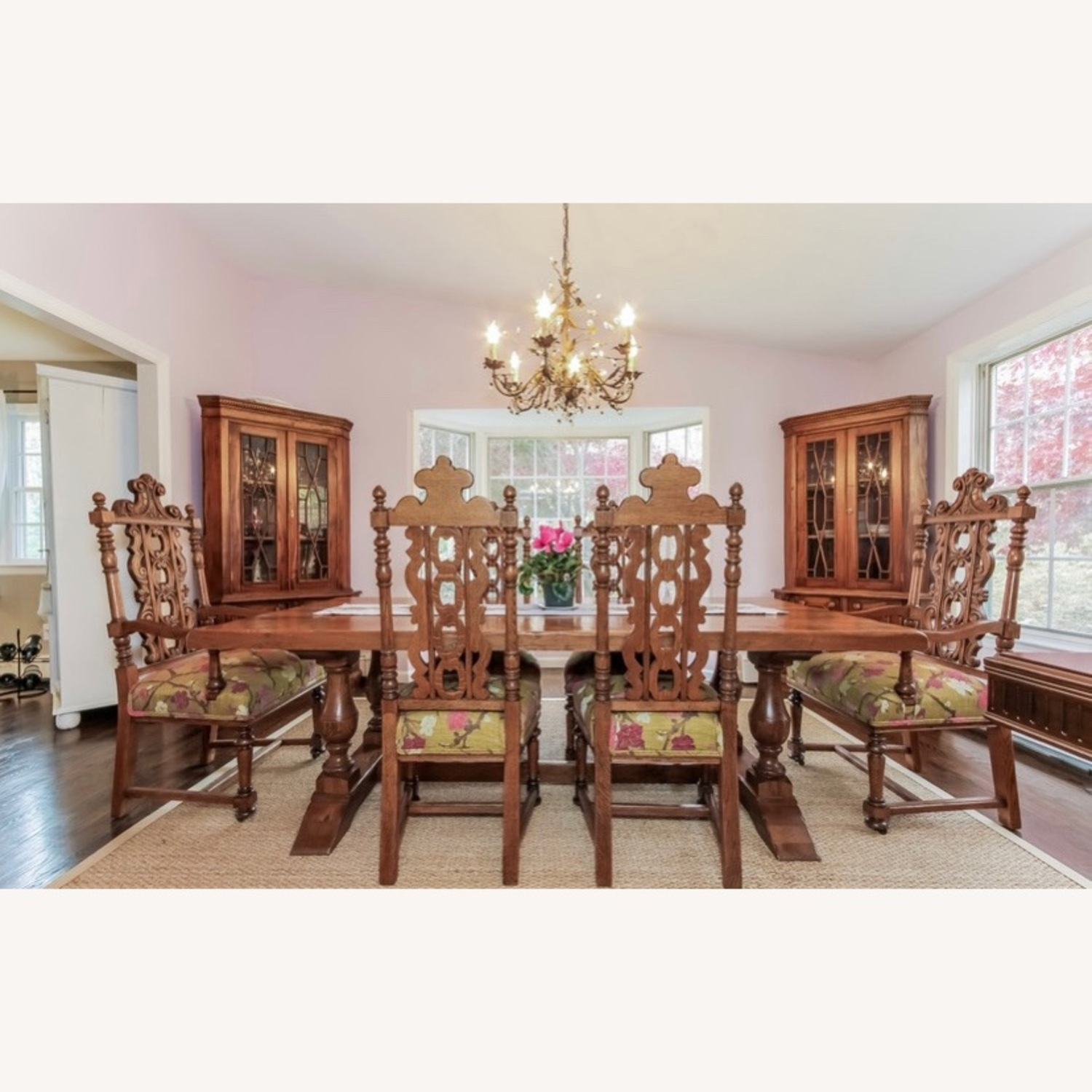 Imported French Rustic Dining Table - image-1