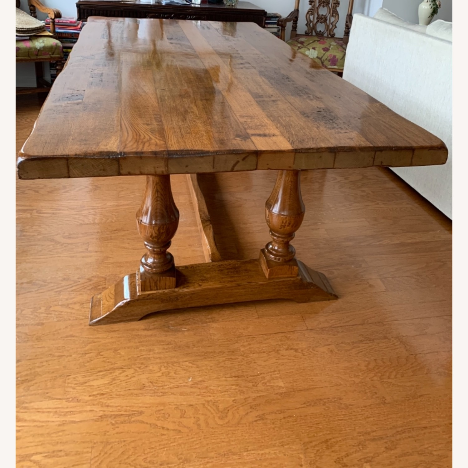 Imported French Rustic Dining Table - image-4