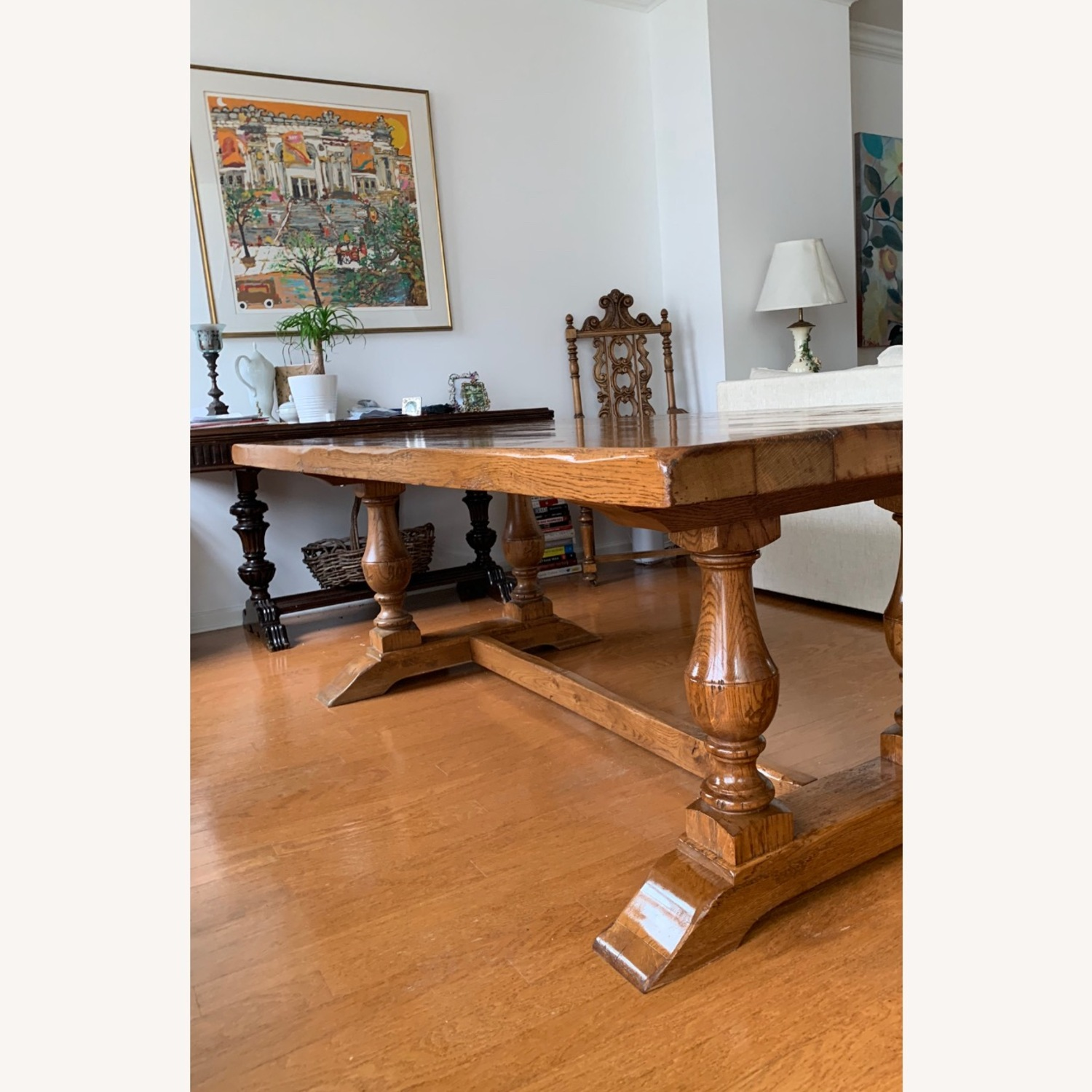 Imported French Rustic Dining Table - image-5