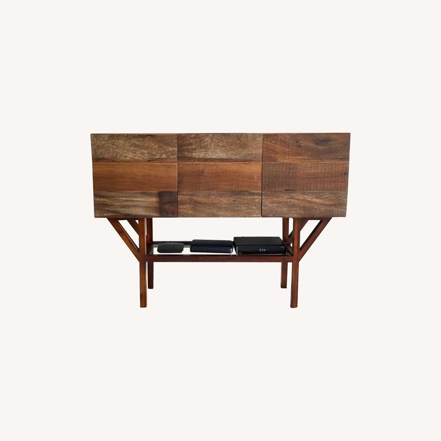 ABC Home Wood Media Table/Credenza/Dresser - image-0
