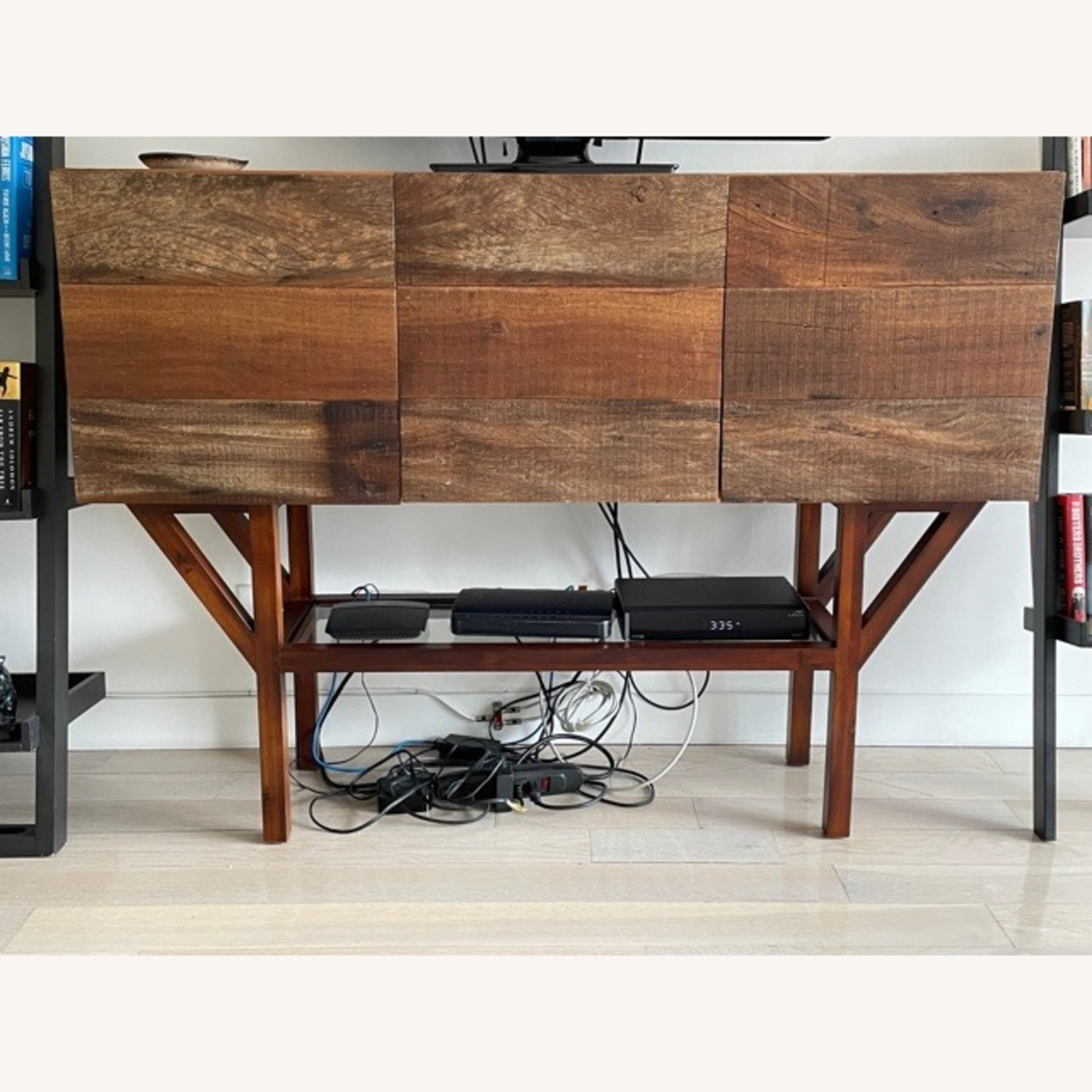 ABC Home Wood Media Table/Credenza/Dresser - image-1