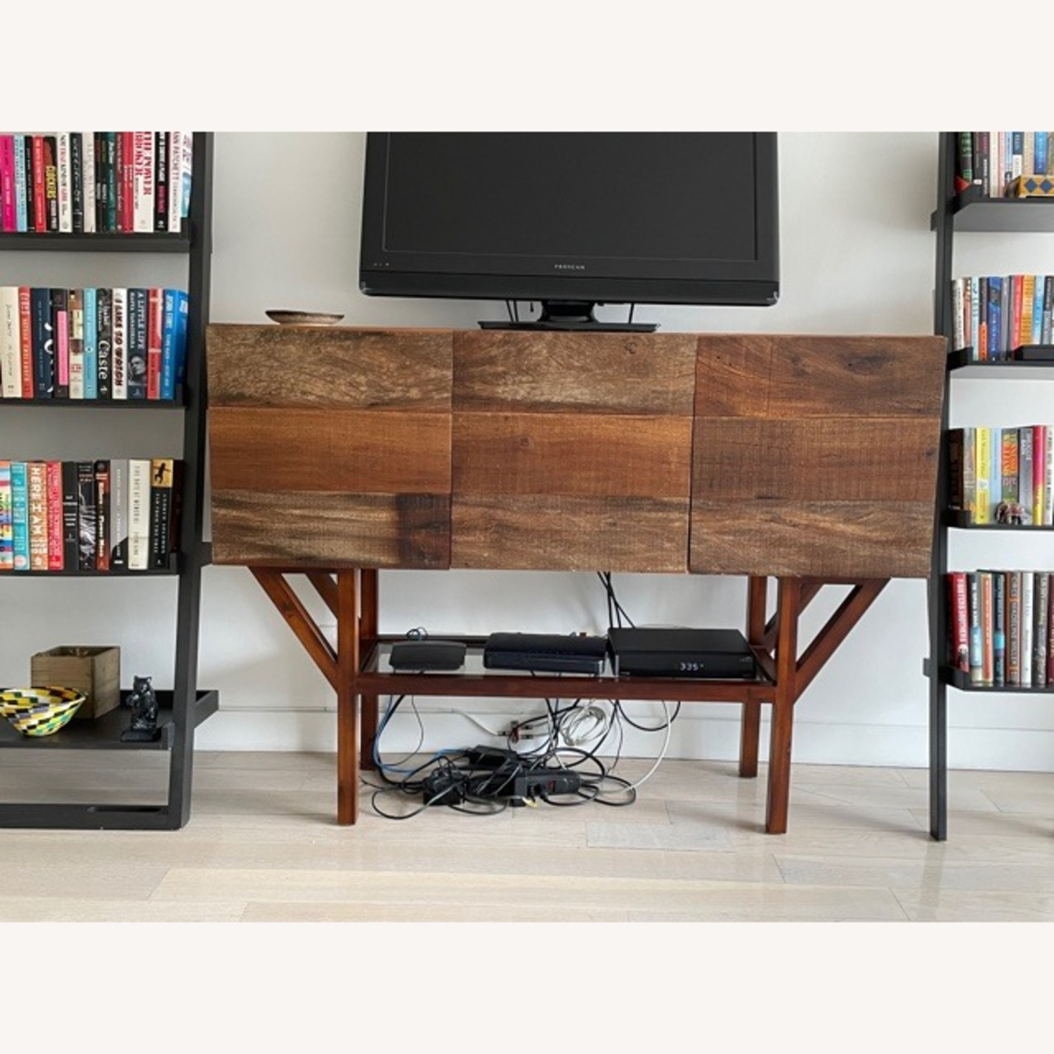 ABC Home Wood Media Table/Credenza/Dresser - image-2