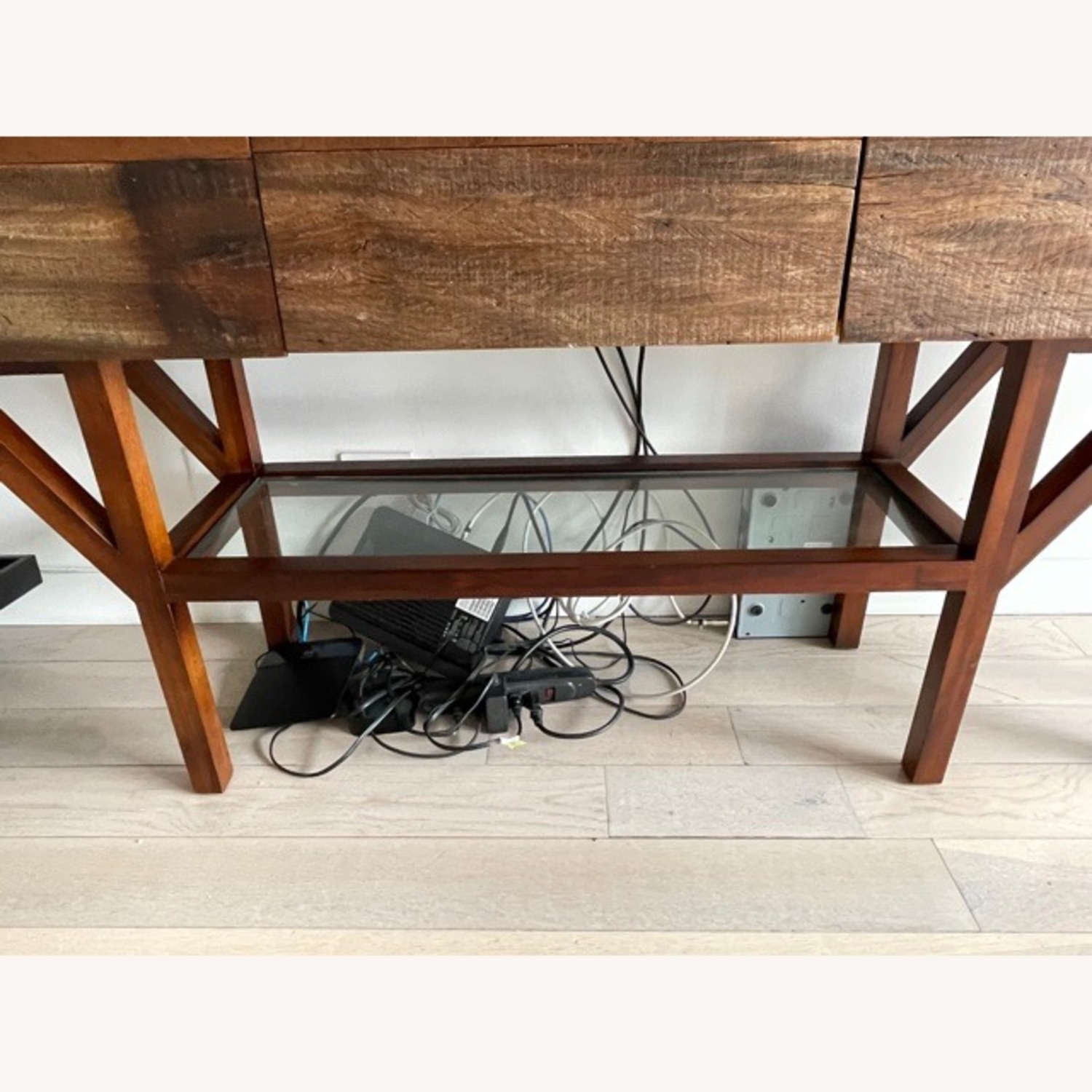 ABC Home Wood Media Table/Credenza/Dresser - image-6