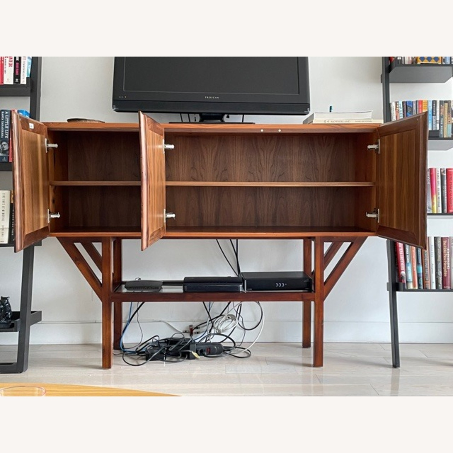 ABC Home Wood Media Table/Credenza/Dresser - image-4