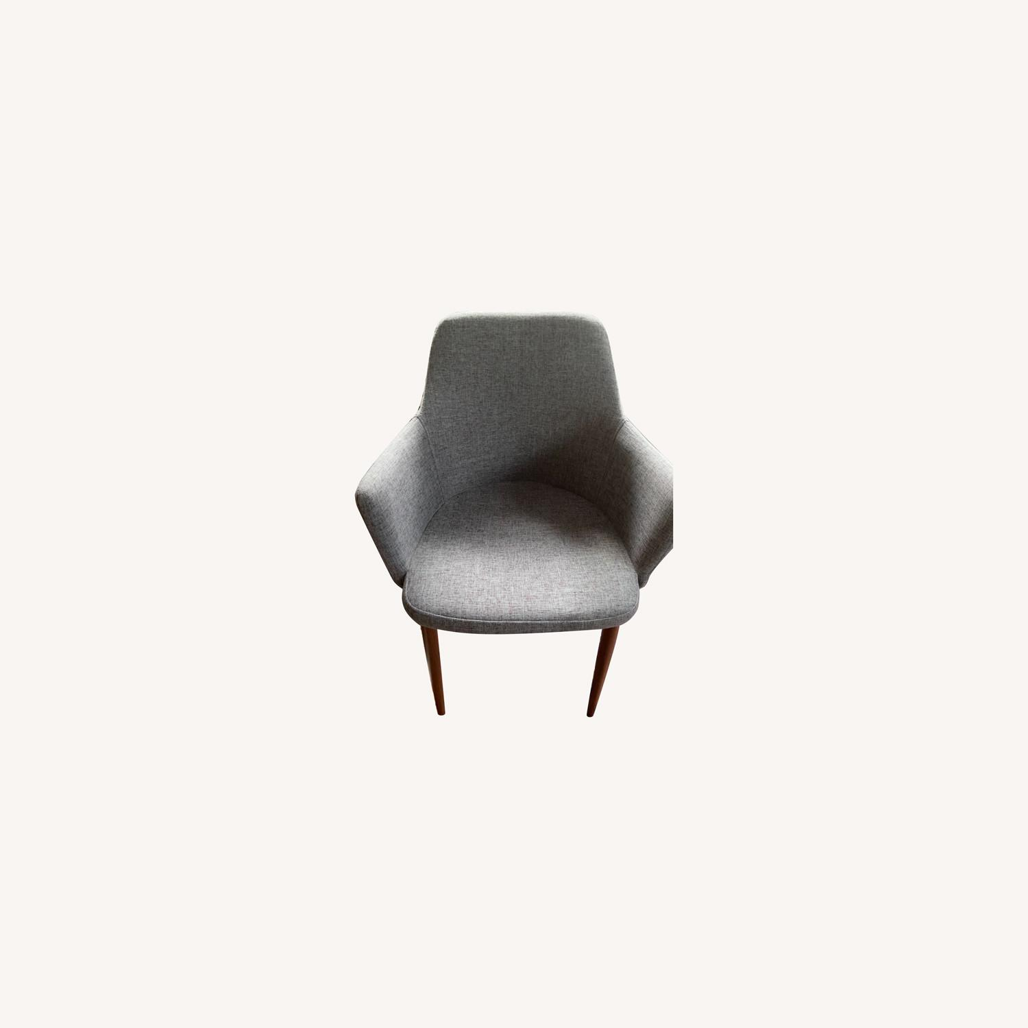 Wayfair 2 Accent/Dining Grey Chair - image-0