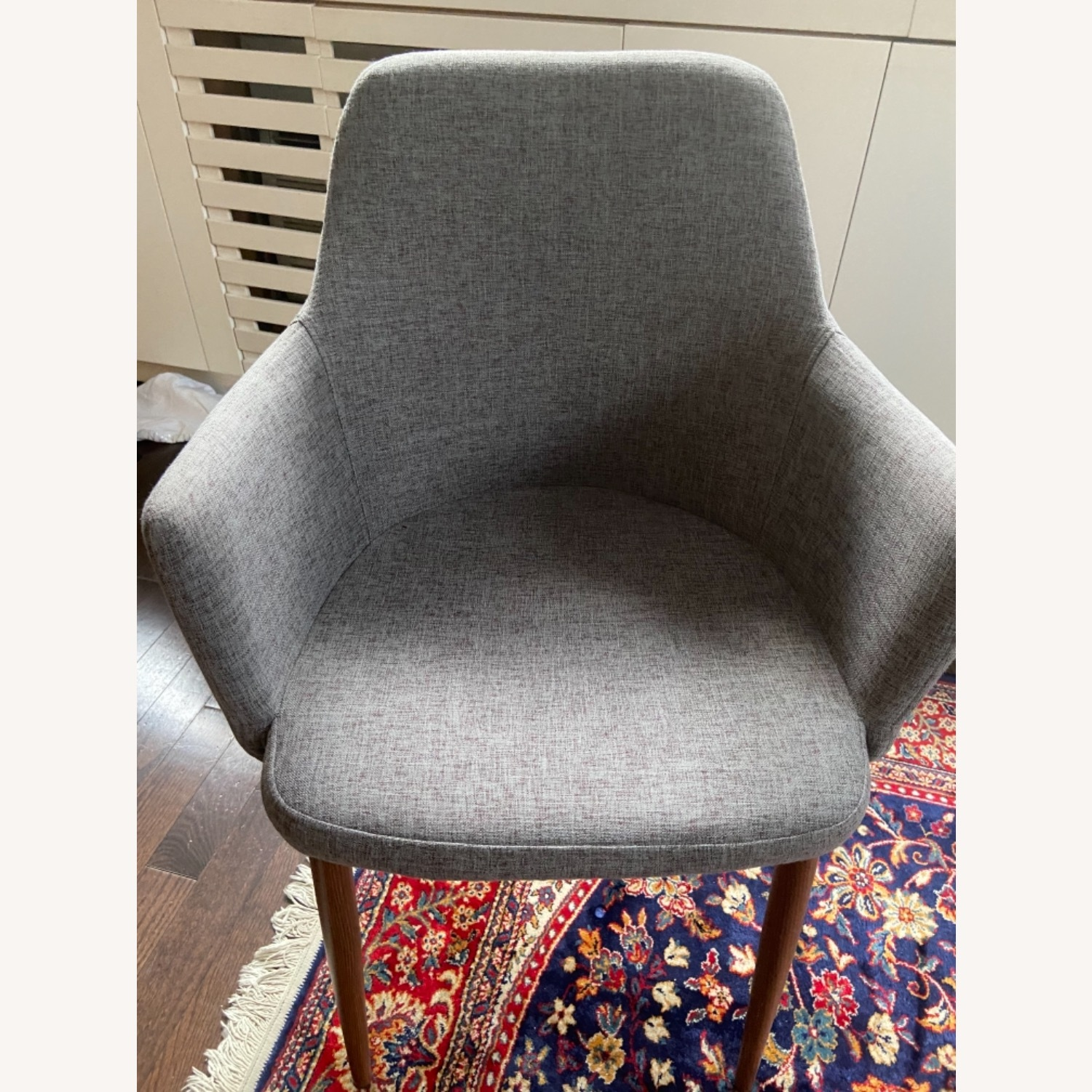 Wayfair 2 Accent/Dining Grey Chair - image-1