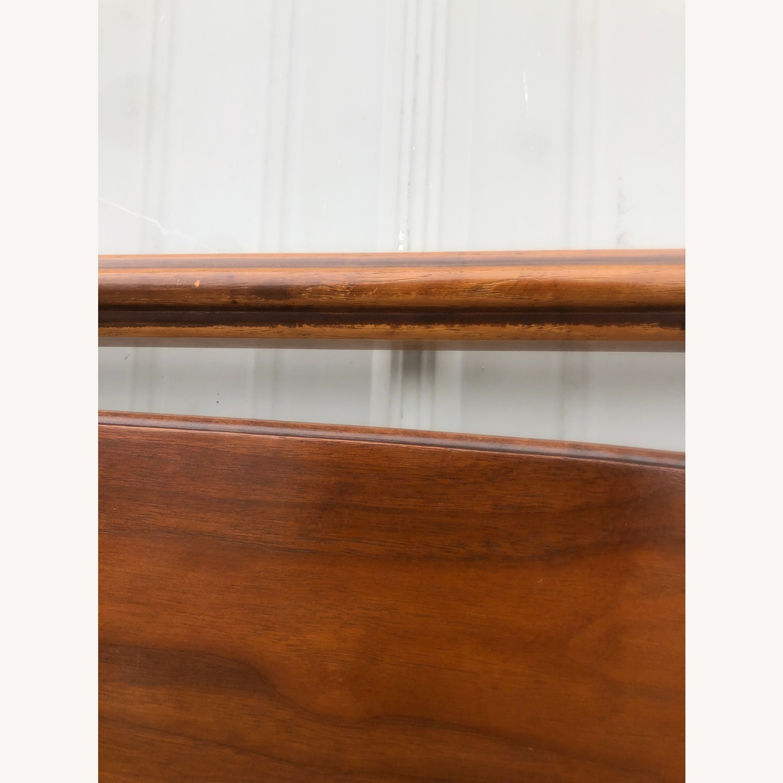 Mid Century Full/Double Walnut headboard - image-7
