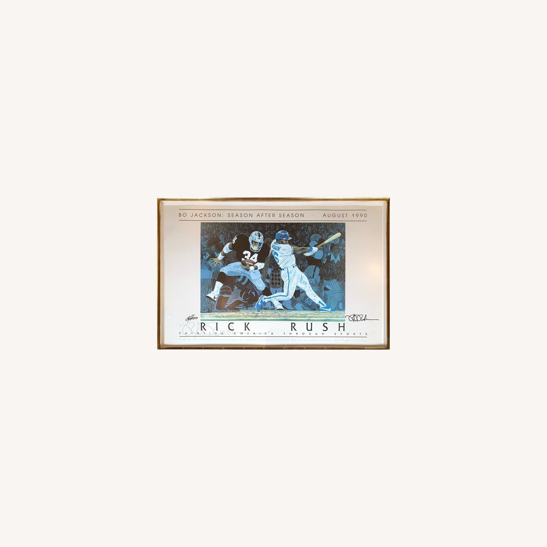 Bo Jackson: Season After Season - Art by Rick Rush - image-0