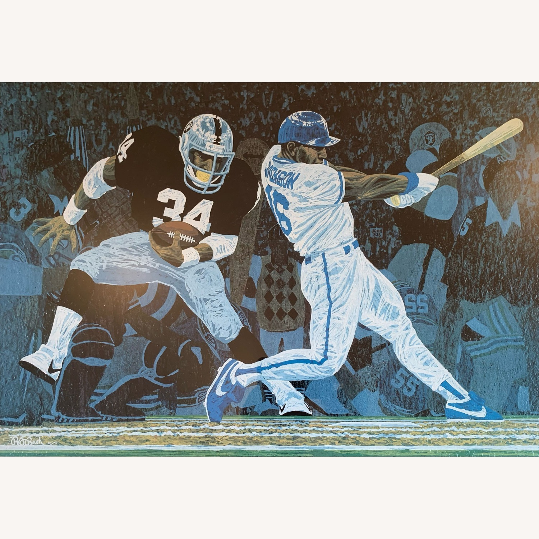 Bo Jackson: Season After Season - Art by Rick Rush - image-2