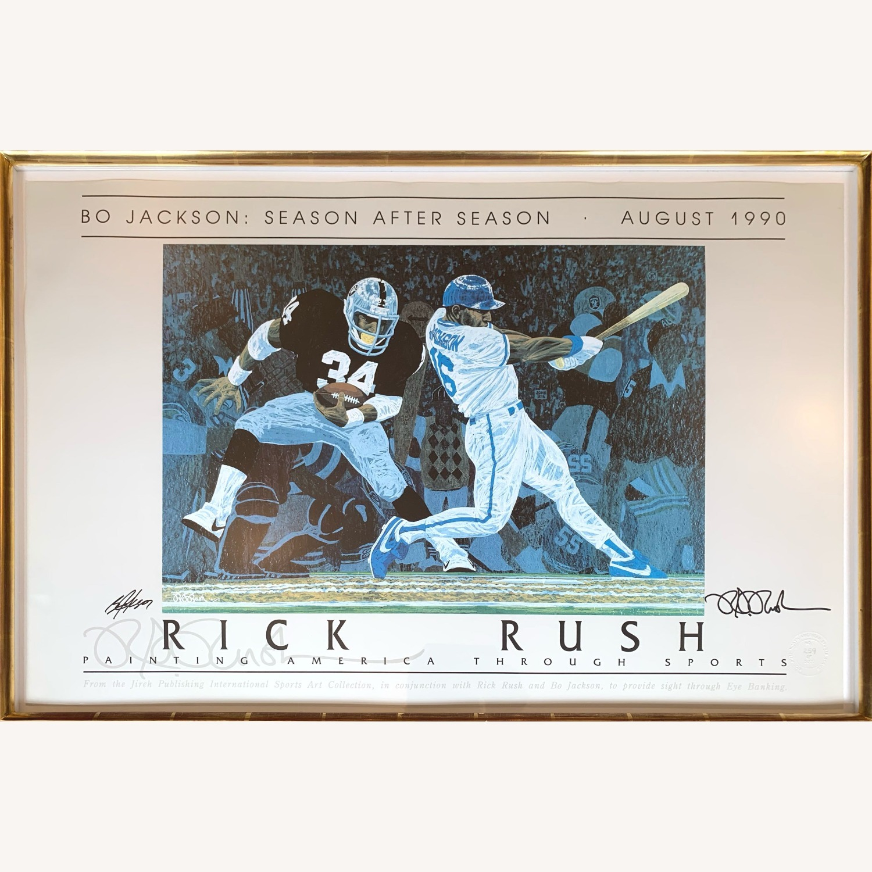 Bo Jackson: Season After Season - Art by Rick Rush - image-1