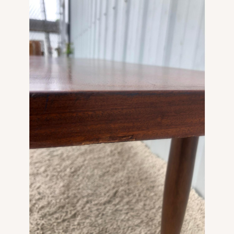 Mid Century Rectangular Walnut Coffee Table - image-13