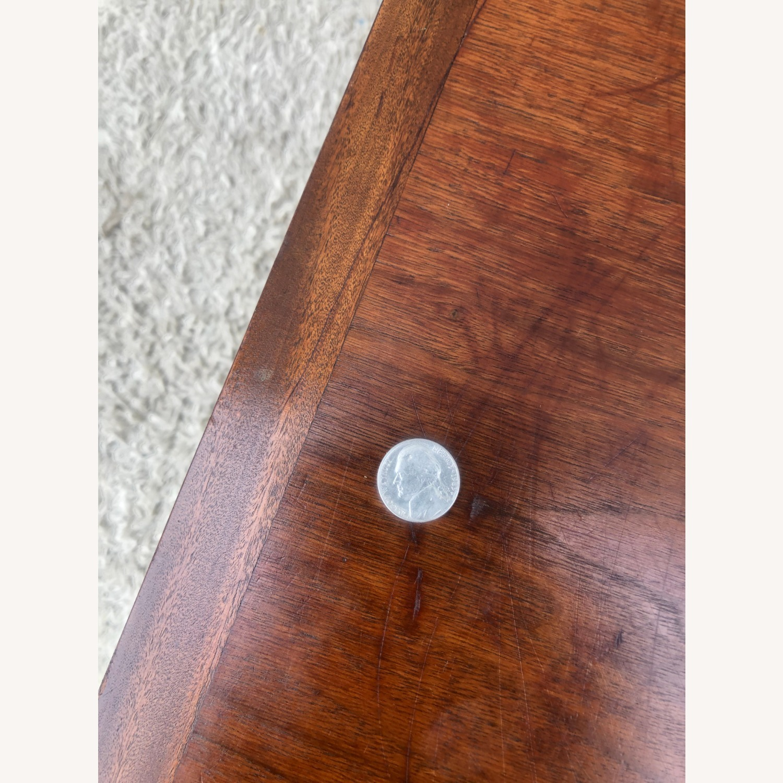 Mid Century Rectangular Walnut Coffee Table - image-9