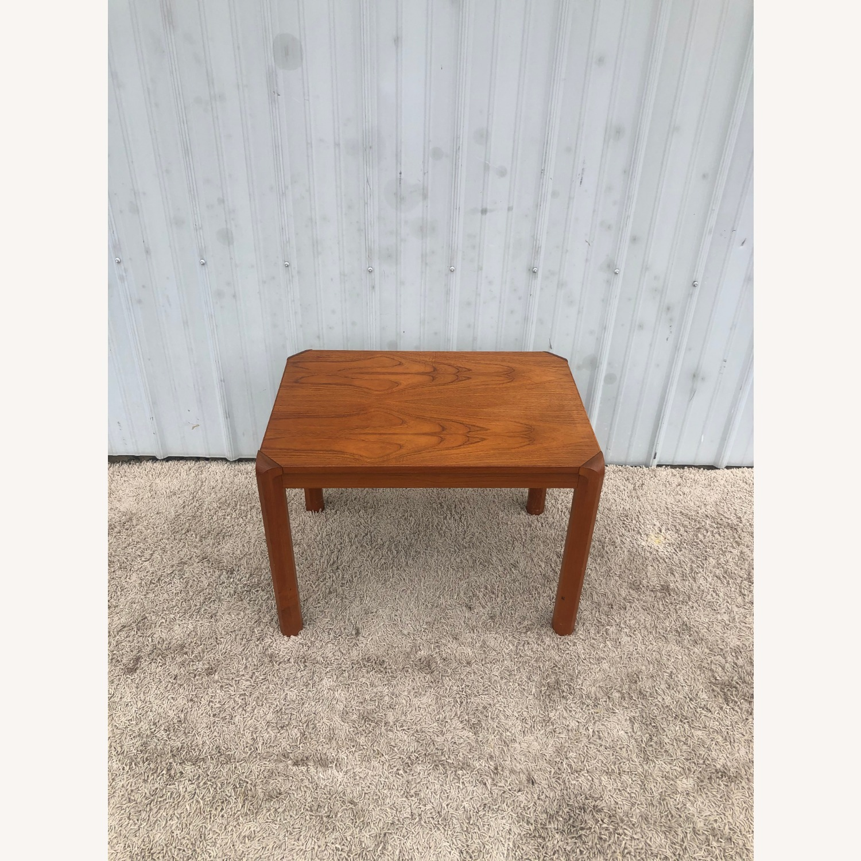 Danish Modern Rectangular Teak End Table - image-2