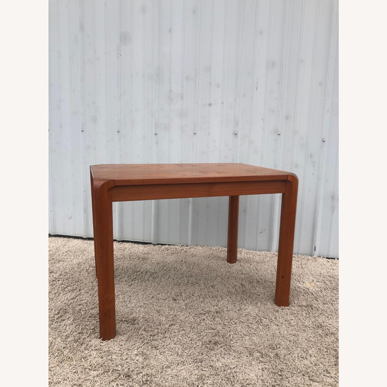 Danish Modern Rectangular Teak End Table - image-8
