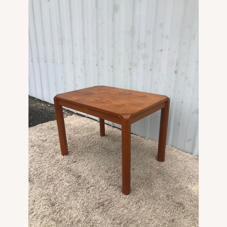 Danish Modern Rectangular Teak End Table - image-7