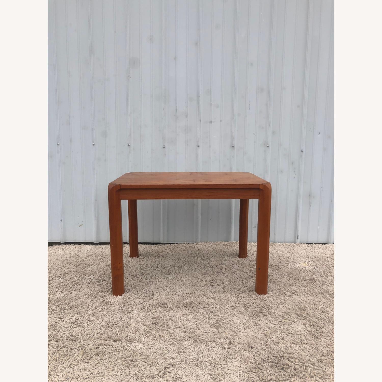 Danish Modern Rectangular Teak End Table - image-1