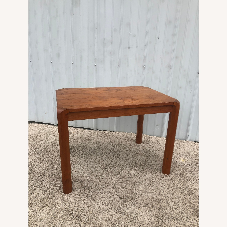 Danish Modern Rectangular Teak End Table - image-9
