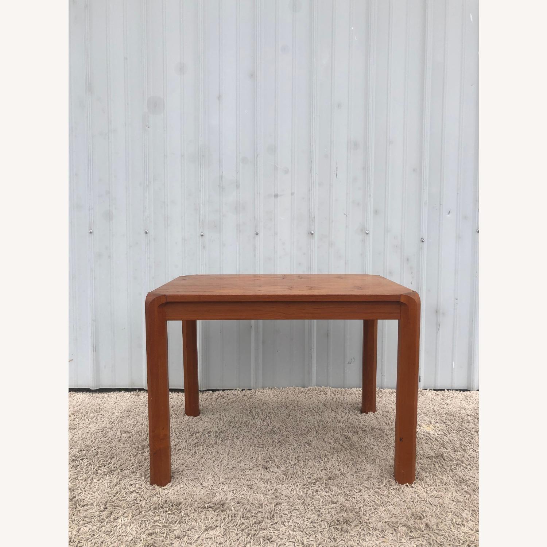 Danish Modern Rectangular Teak End Table - image-10