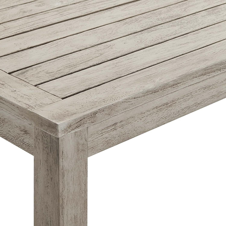 4-Piece Outdoor Patio Set In Light Gray Wood - image-12