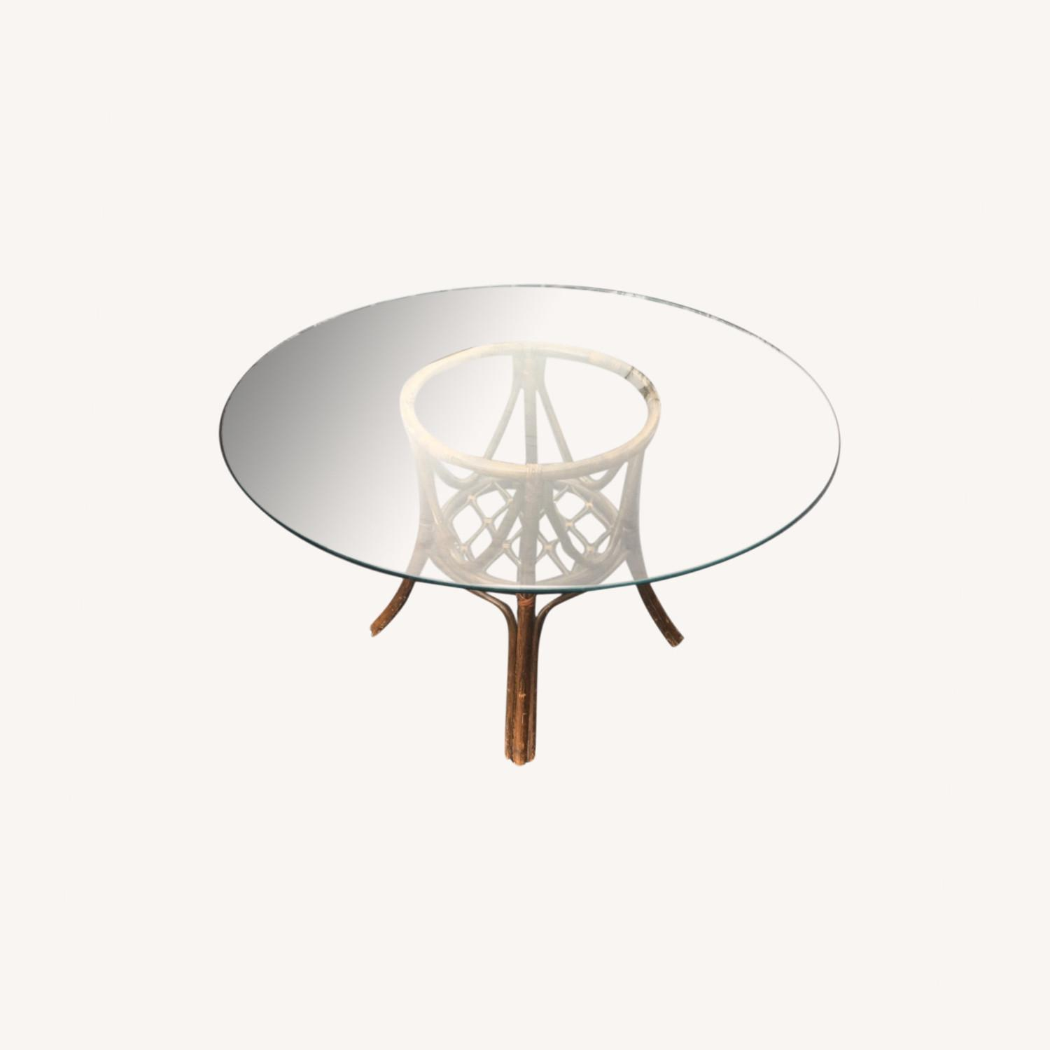 Glass Dining Table - image-0