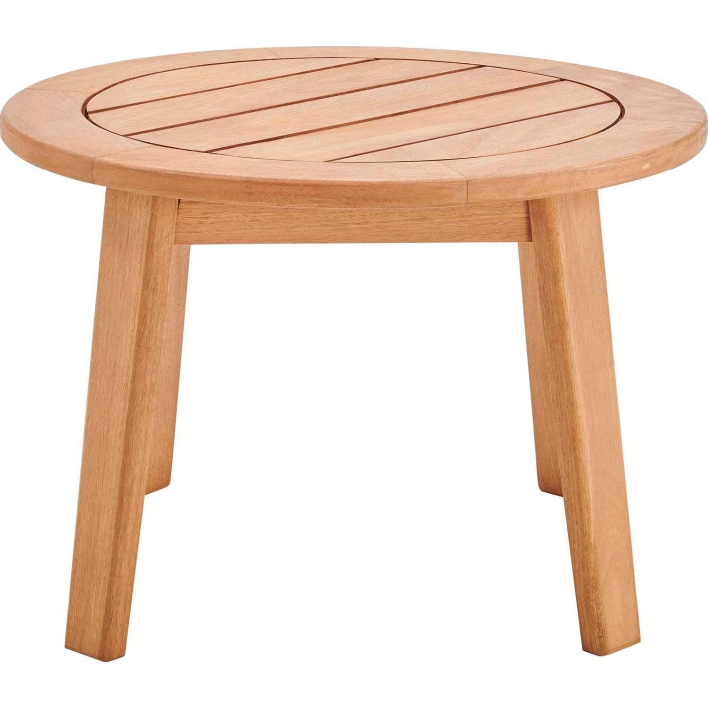 3-Piece Outdoor Patio Set In Ash Wood & Beige - image-4