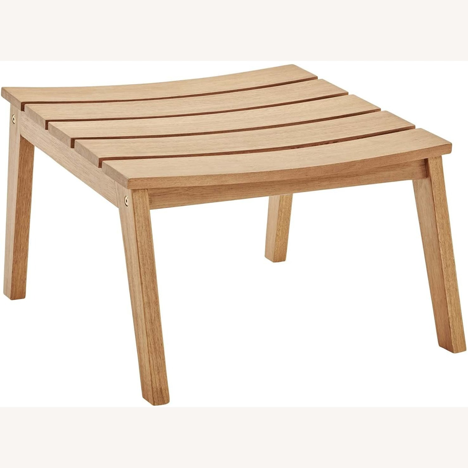 4-Piece Outdoor Patio Set In Natural Taupe Wood - image-4