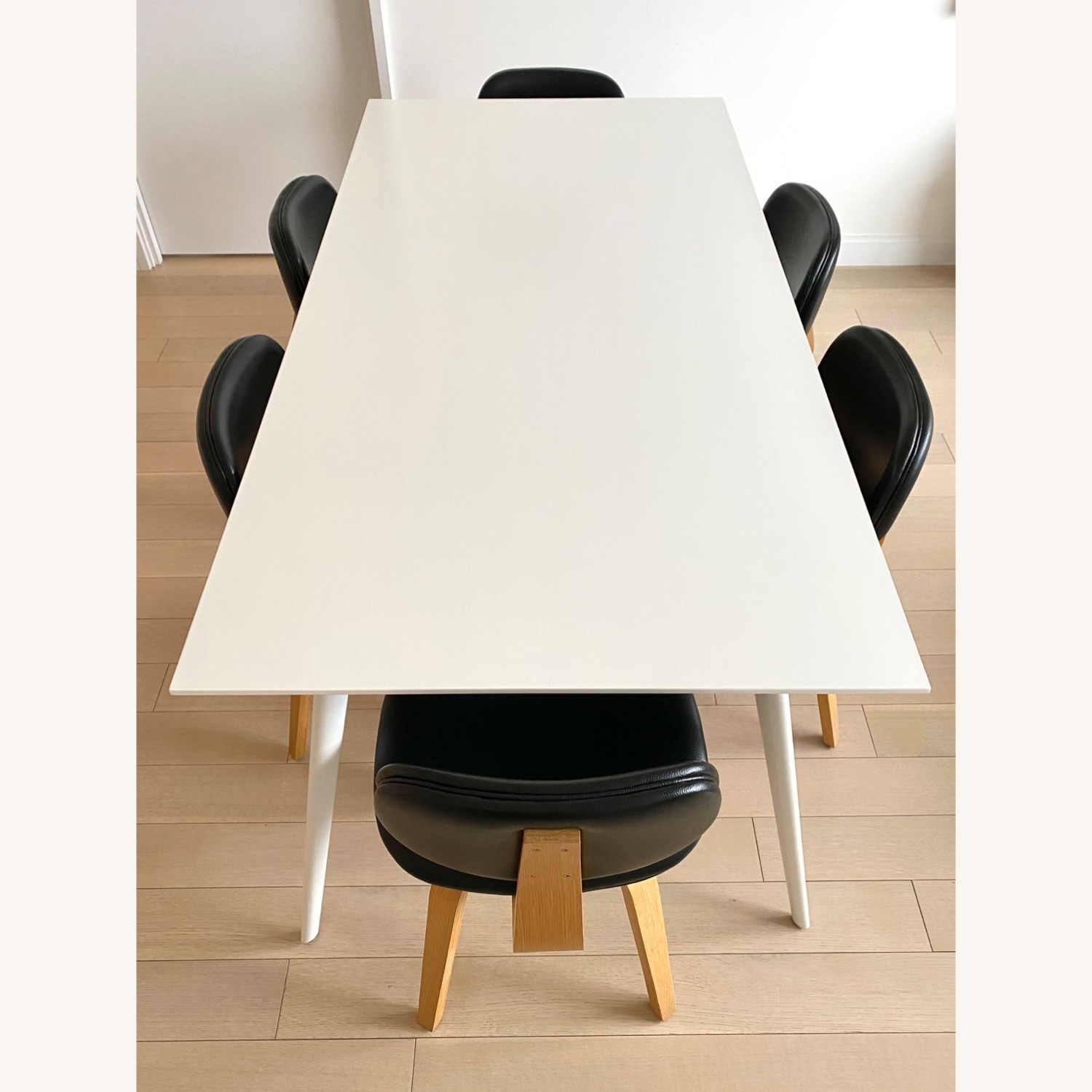 ABC Home White Modern Dining Table - image-2