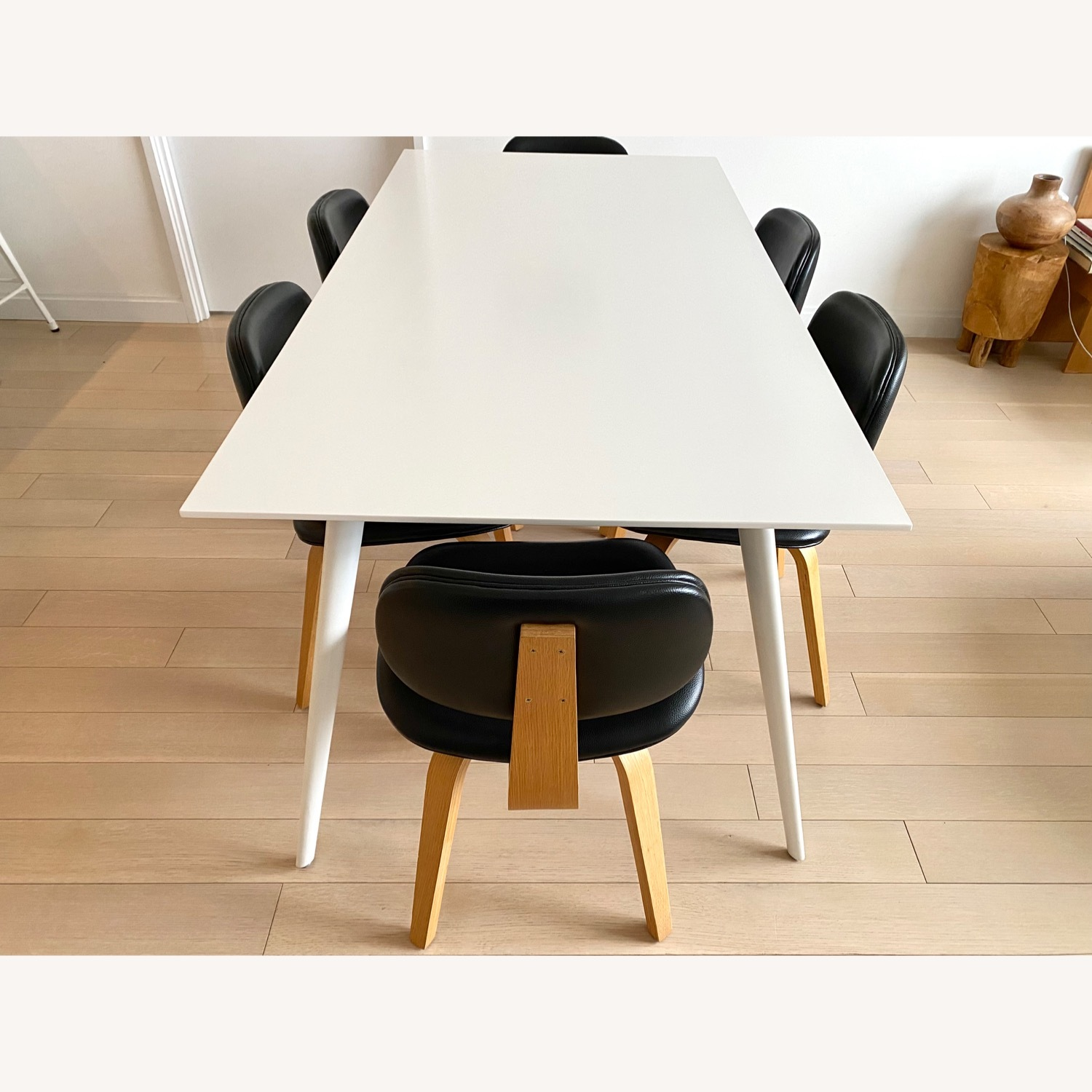 ABC Home White Modern Dining Table - image-5