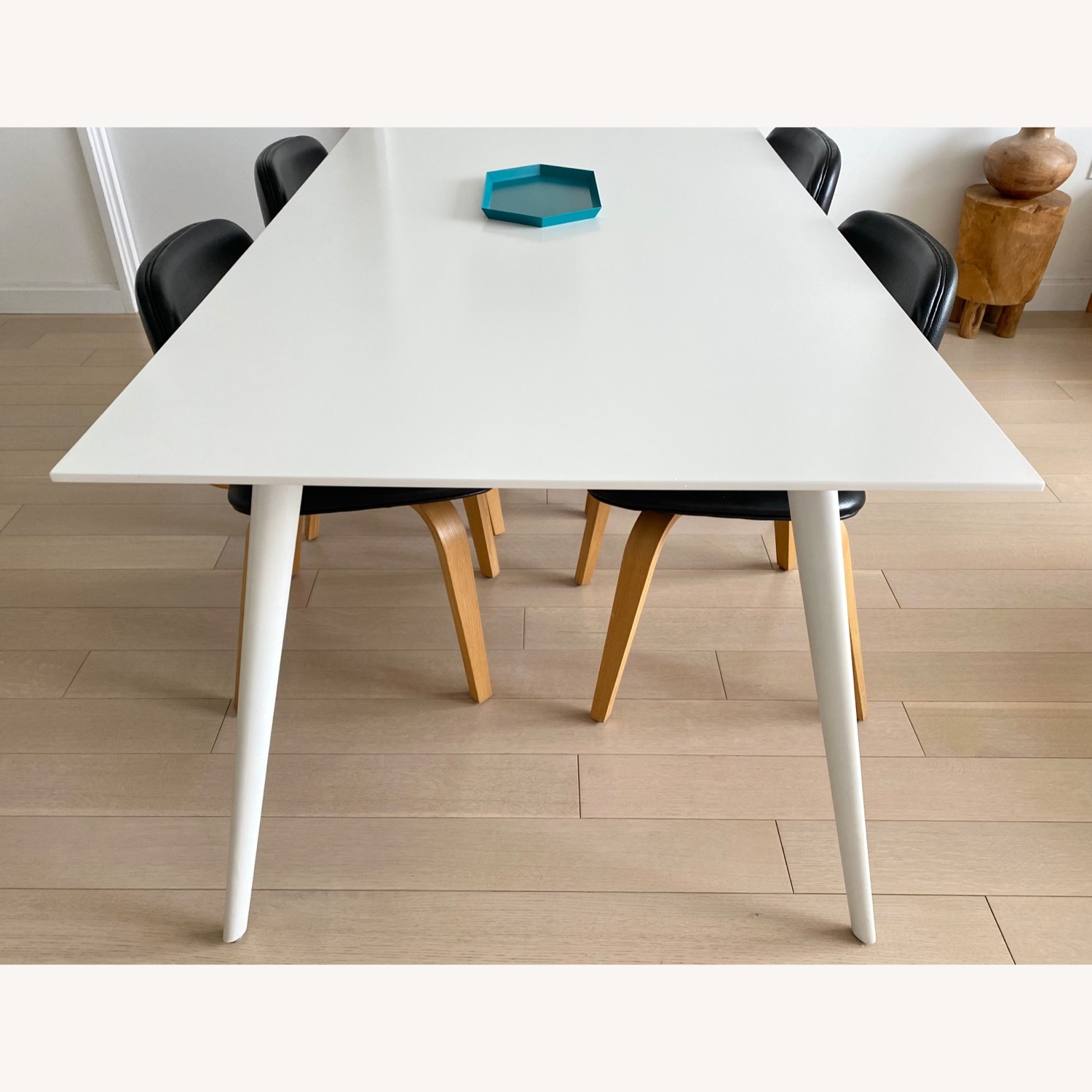 ABC Home White Modern Dining Table - image-7