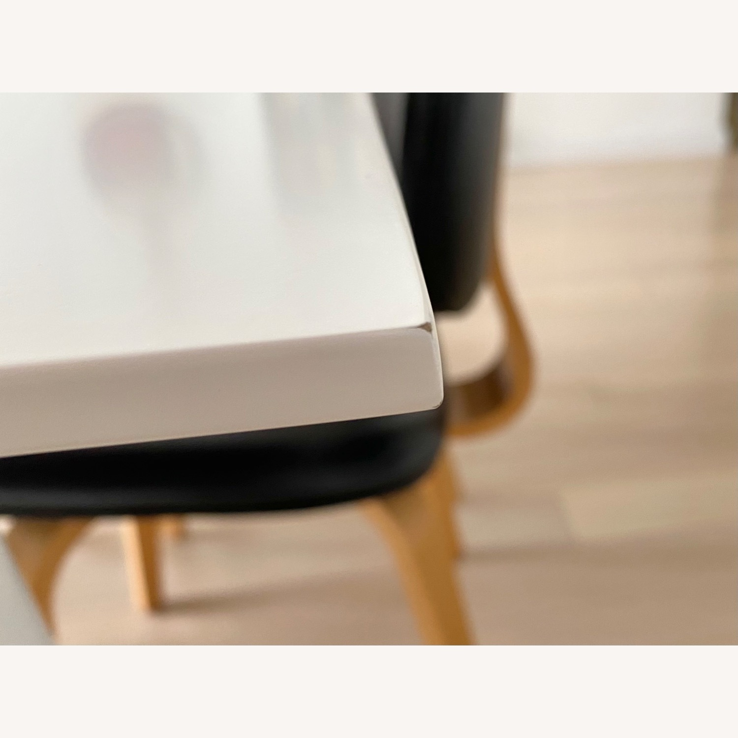 ABC Home White Modern Dining Table - image-3