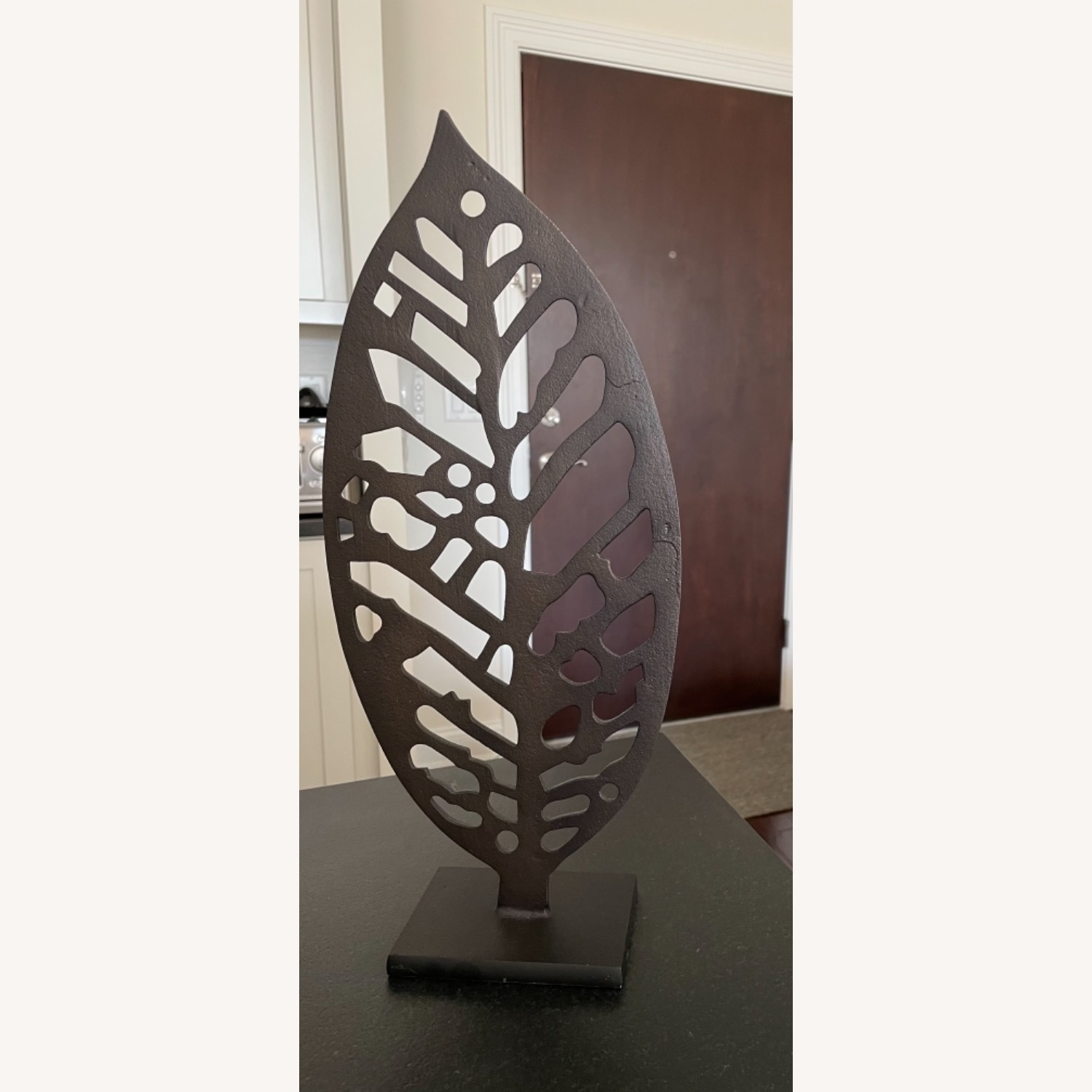 Crate & Barrel Beech Leaf on Stand - image-2