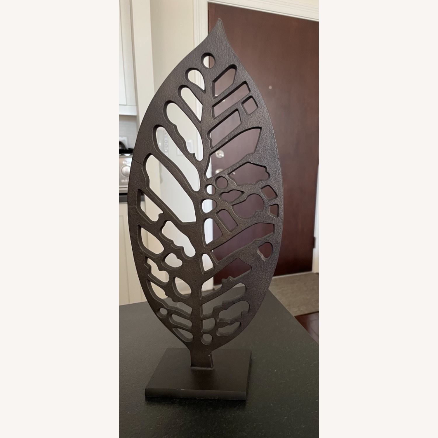 Crate & Barrel Beech Leaf on Stand - image-1