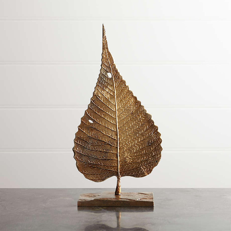 Crate & Barrel Bodhi Leaf on Stand - image-0