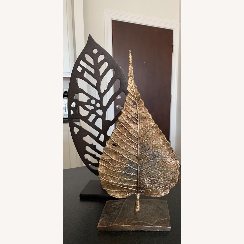 Crate & Barrel Bodhi Leaf on Stand - image-3
