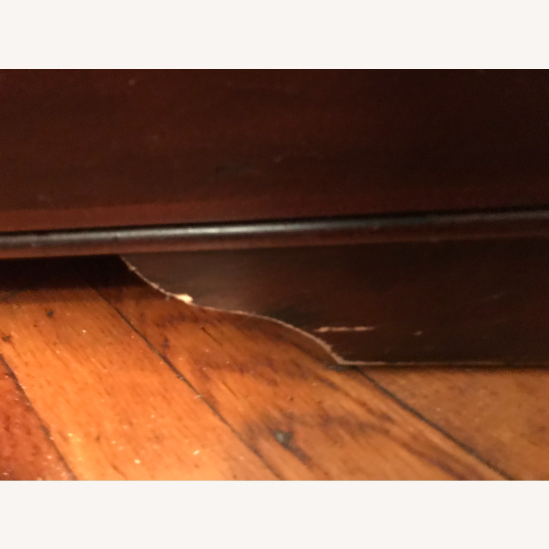 Macy's Elegant Cherry Wood China Cabinet - image-3